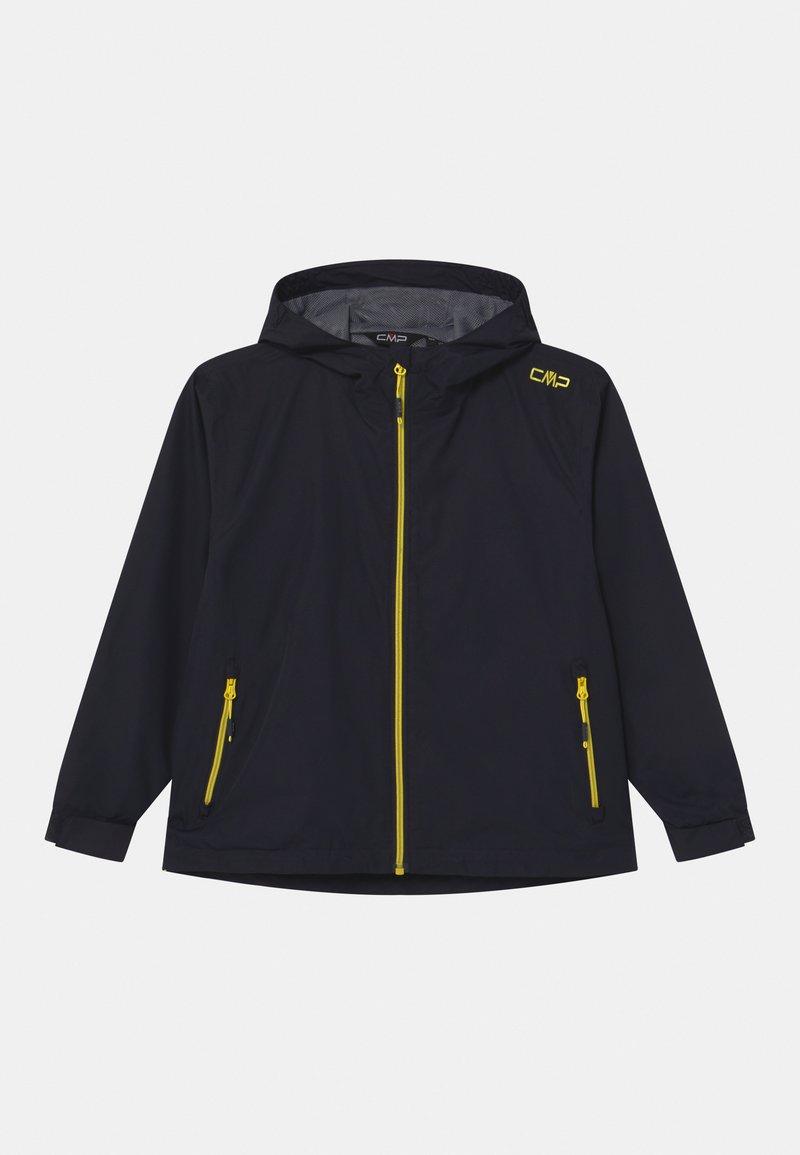 CMP - RAIN FIX HOOD UNISEX - Vodotěsná bunda - antracite/lemonade