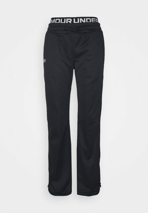 BRANDED PANTS - Pantalones deportivos - black