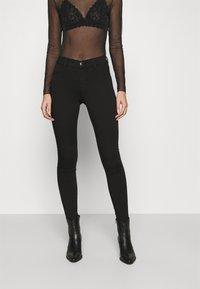 Dorothy Perkins - FRANKIE - Jeans Skinny Fit - black - 0