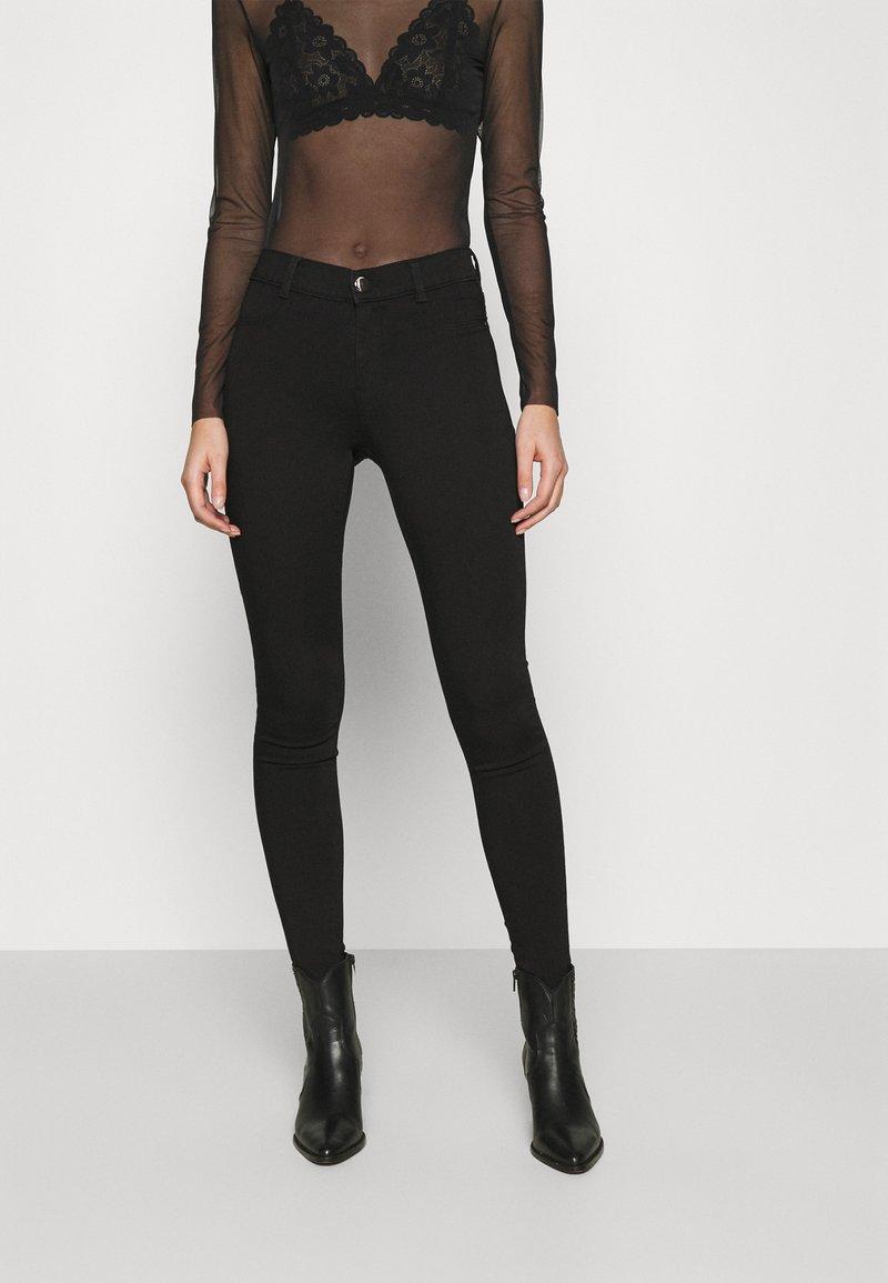 Dorothy Perkins - FRANKIE - Jeans Skinny Fit - black