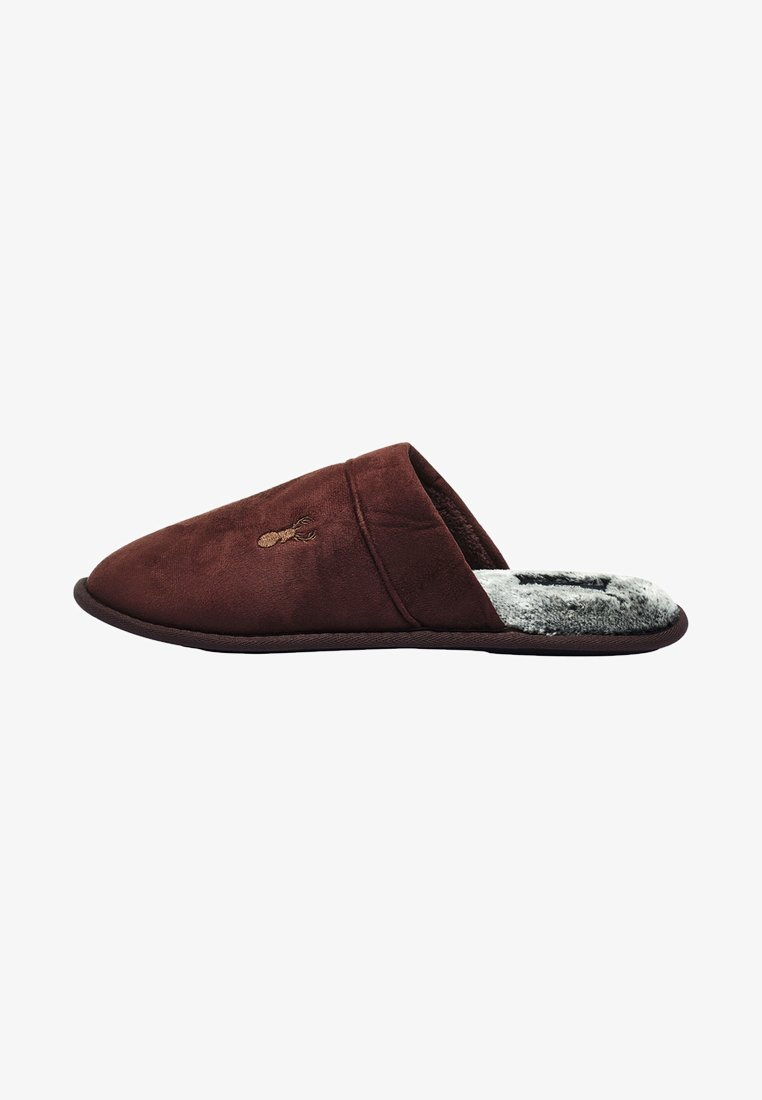 Next - STAG - Slippers - brown