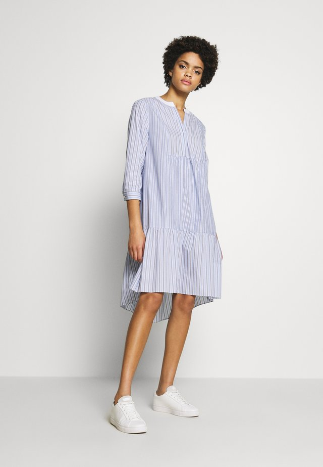 BABE FANCY PATCH DRESS - Day dress - light-blue denim