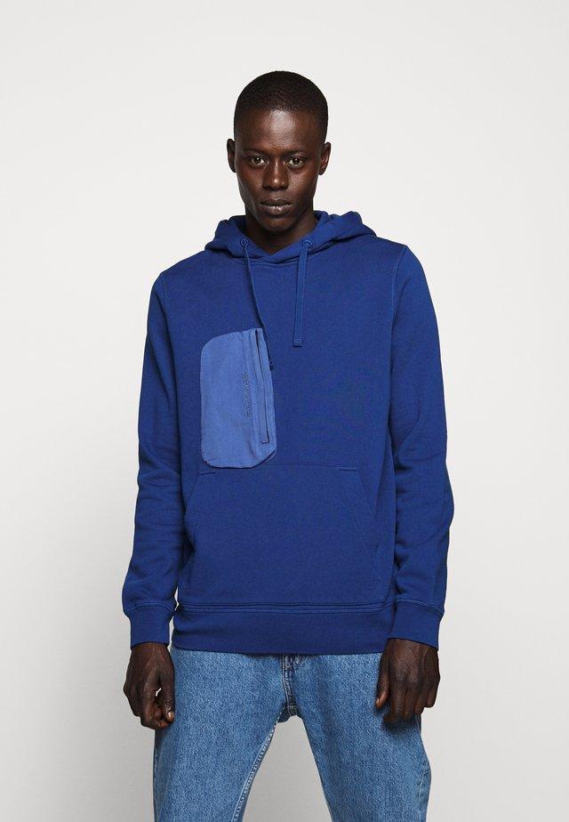 COMBINED HOOD - Hoodie - cimmerian blue