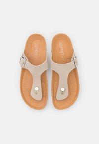 Esprit - Sandály s odděleným palcem - beige - 5