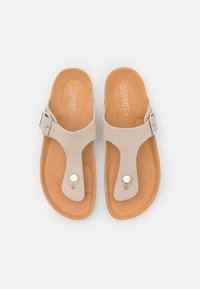 Esprit - T-bar sandals - beige - 5