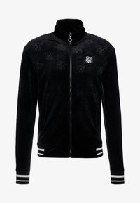 SIKSILK - DEBOSSED JACKET - Giubbotto Bomber - jet black - 3