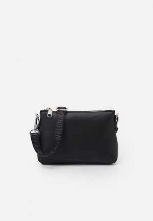 CAMERA POUCH - Across body bag - black