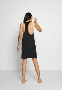 Calvin Klein Swimwear - TANK DRESS - Beach accessory - black - 2