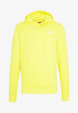 GRAPHIC HOODIE - Hoodie - lemon/white