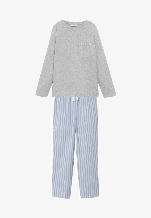 Pyjama - medium heather grey