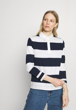 RUGBY STRIPE  - Polo - dark blue