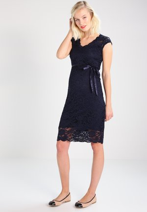 MLNEWMIVANA CAP DRESS - Cocktail dress / Party dress - navy blazer