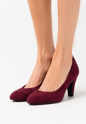 COURT SHOE - Escarpins - merlot