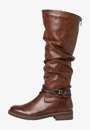 Kowbojki i obuwie motocyklowe - brown