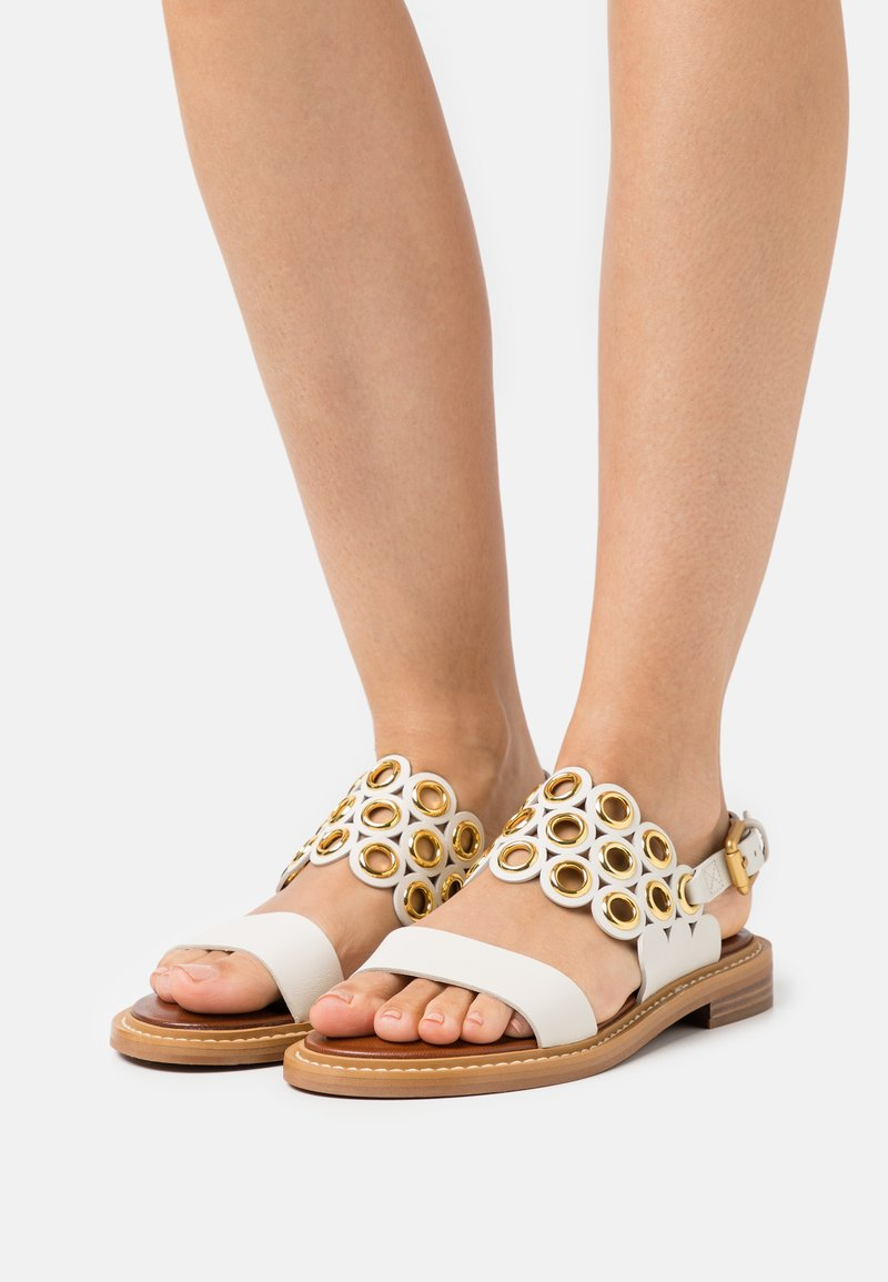 See by Chloé - STEFFI FLAT - Sandals - natural