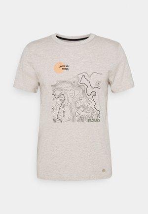 UNISEX ARCY - Print T-shirt - sand