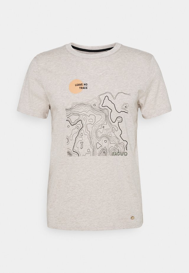 UNISEX ARCY - T-shirt con stampa - sand
