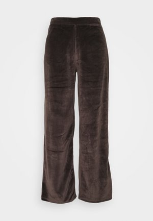 NMABBY LOOSE PANT - Trousers - chocolate brown