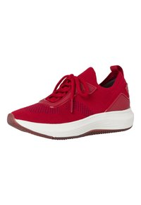 Tamaris Fashletics - LACE-UP - Baskets basses - scarlet - 4