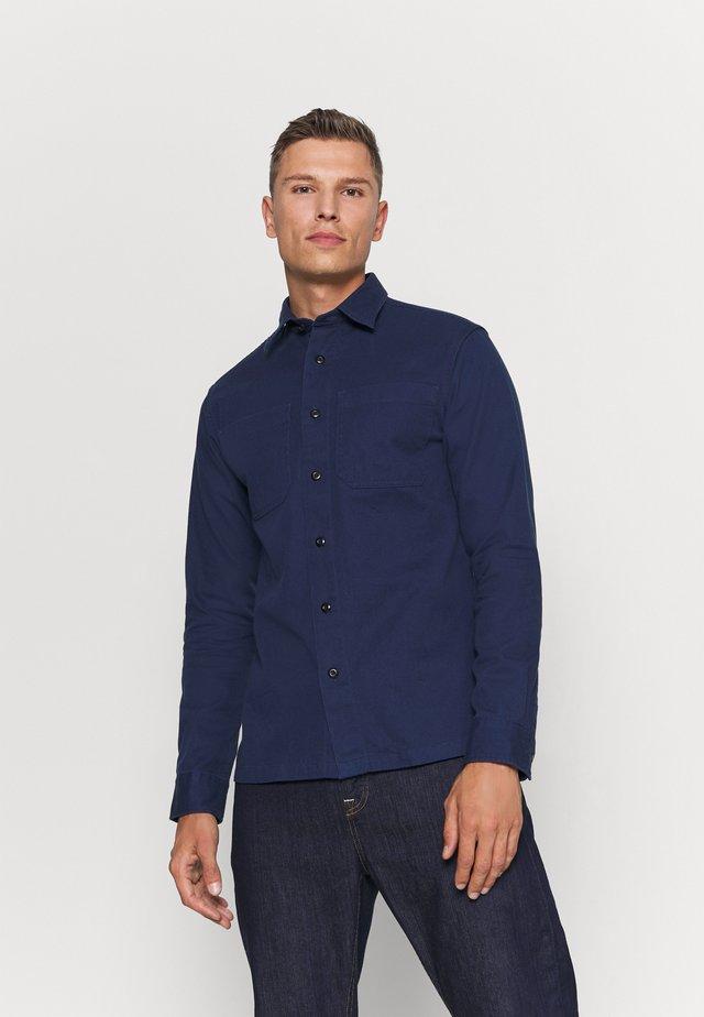 SLHREGSAKI - Camisa - medieval blue