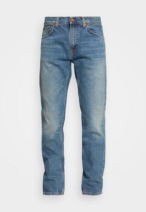 GRITTY JACKSON - Jeansy Straight Leg - blue denim