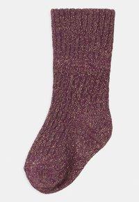 Name it - NBFROSIN 4 PACK - Socks - italian plum/deauville mauve - 2