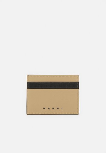 WALLET UNISEX - Wallet - black/cement