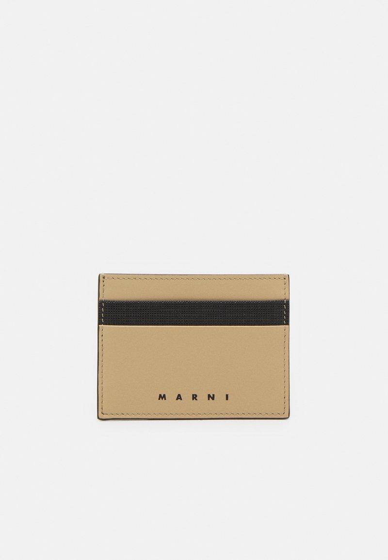 Marni - WALLET UNISEX - Wallet - black/cement