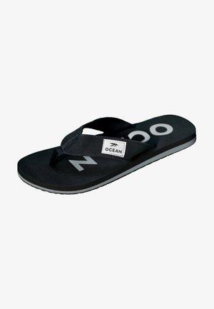 T-bar sandals - schwarz