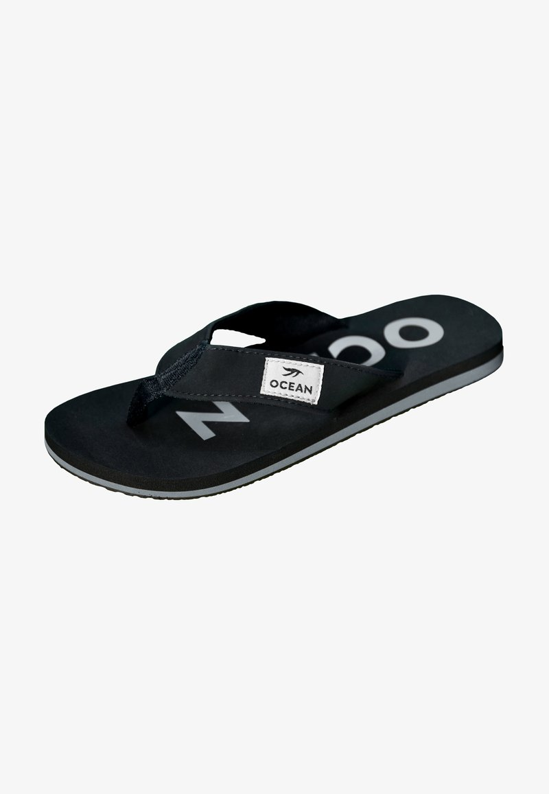 MADSea - T-bar sandals - schwarz