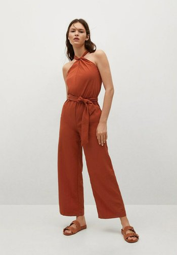 QUINO-A - Jumpsuit - burnt orange