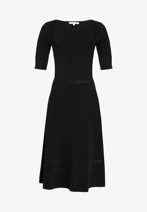 ABITO DRESS - Strikket kjole - nero