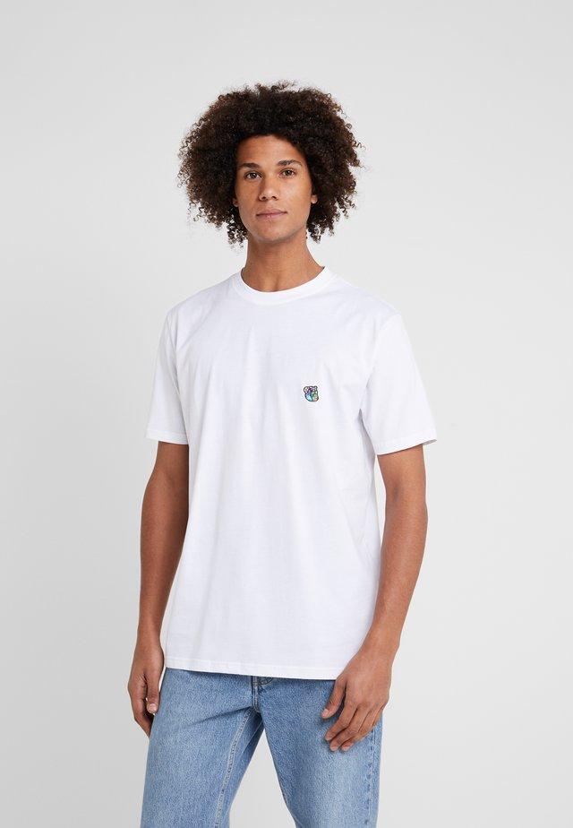 FRANK - Jednoduché triko - white