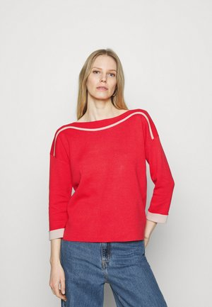 Strickpullover - red