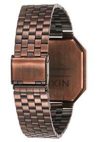 Nixon - RE-RUN - Digitální hodinky - antique copper - 3