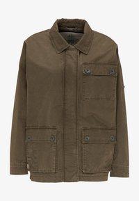 DreiMaster - Summer jacket - militär oliv - 4