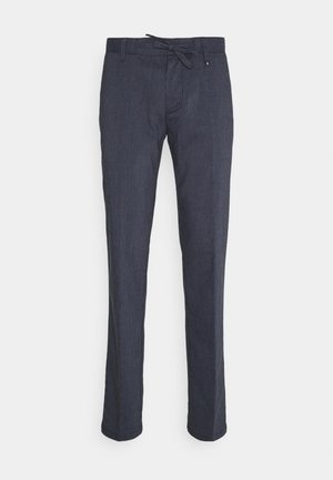 DRAWSTRING BUTTONED  - Chino - blue