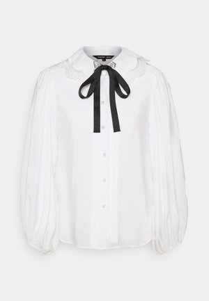 GRAND STAND BOW SHIRT - Blůza - ivory
