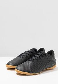 adidas Performance - NEMEZIZ 19.4 IN - Indoor football boots - core black/utility black - 2