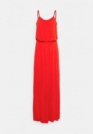 VICANSA STRAP MAXI DRESS - Maxi dress - flame scarlet