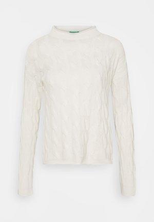 TURTLE NECK - Jumper - off white