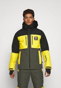 Brunotti - ARACIN MENS SNOWJACKET - Snowboardjacka - pine grey - 0