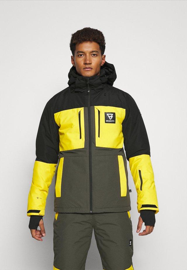 ARACIN MENS SNOWJACKET - Giacca da snowboard - pine grey