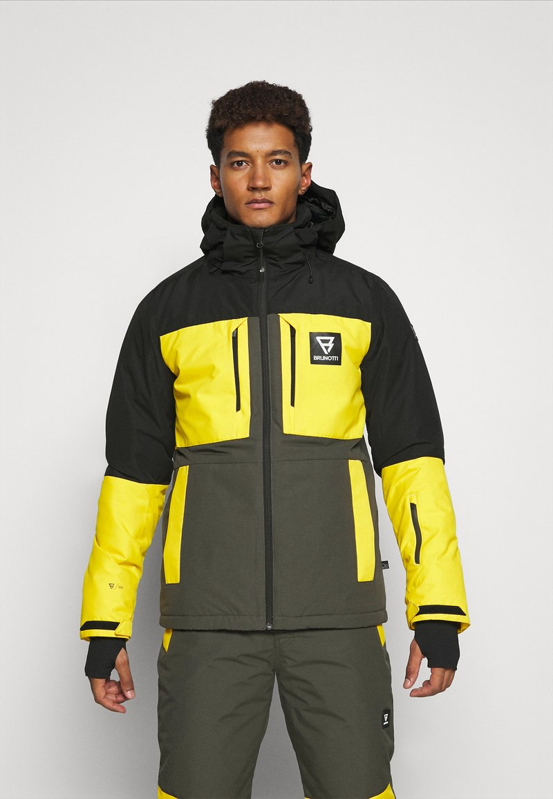 Brunotti - ARACIN MENS SNOWJACKET - Snowboardjacka - pine grey