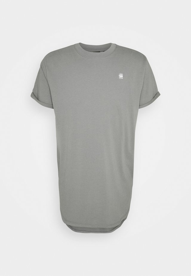 LASH - Basic T-shirt - charcoal