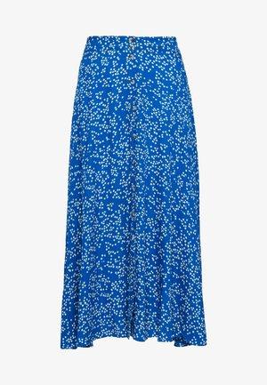 JACINTHE - A-line skirt - blue