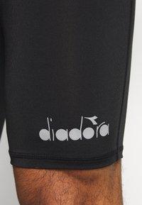 Diadora - SHORT  - Leggings - black - 5