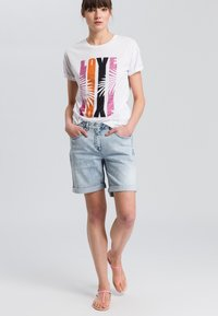 Marc Aurel - Print T-shirt - pink - 1