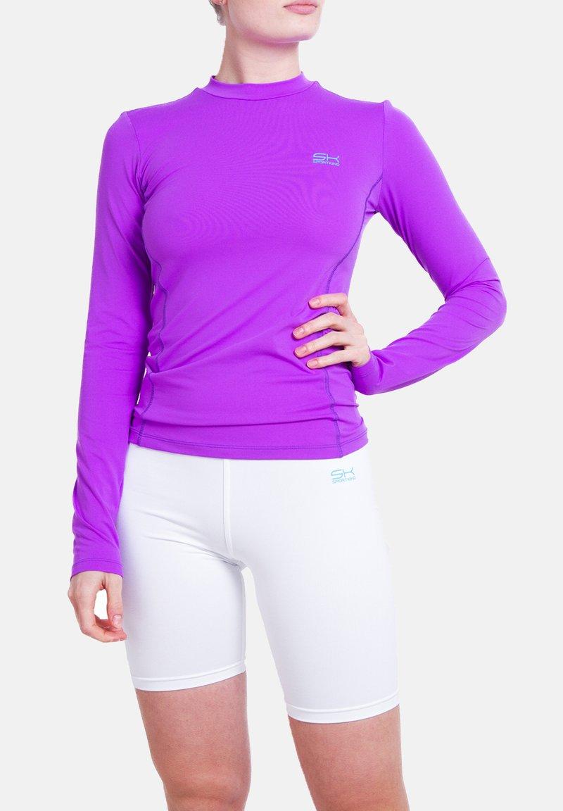 SPORTKIND - Sports shirt - lila