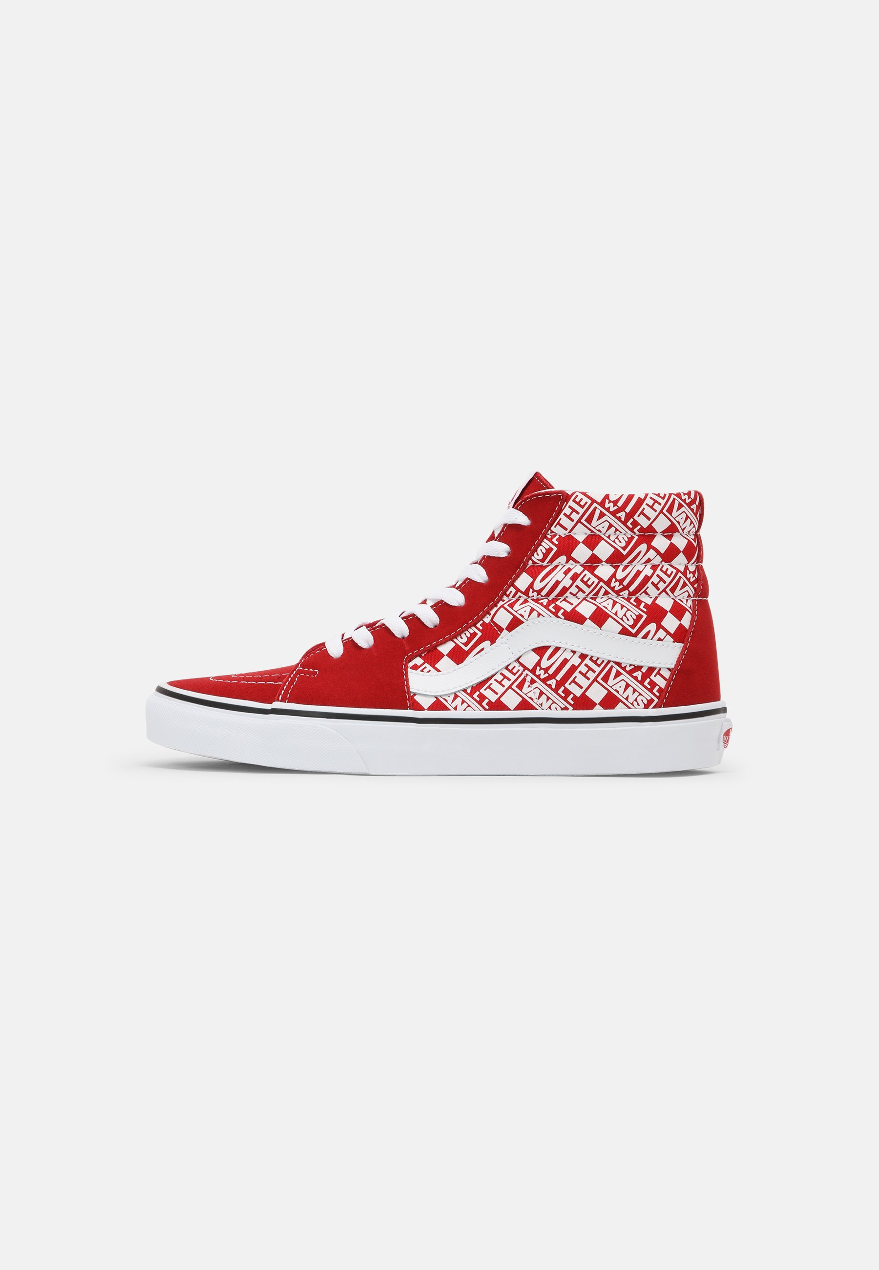SK8-HI UNISEX - Baskets montantes - chili pepper/racing red